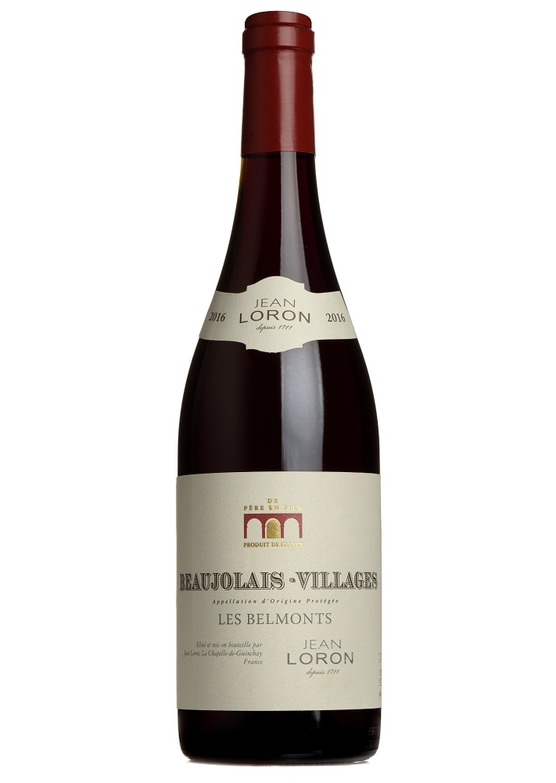 2016 Beaujolais-Villages, 'Les Belmonts', Loron