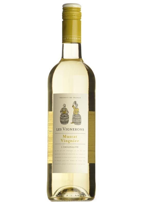 2017 Muscat/Viognier, Les Vignerons, Vin de France