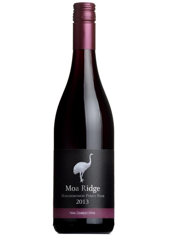 2013 Pinot Noir, Moa Ridge, Marlborough