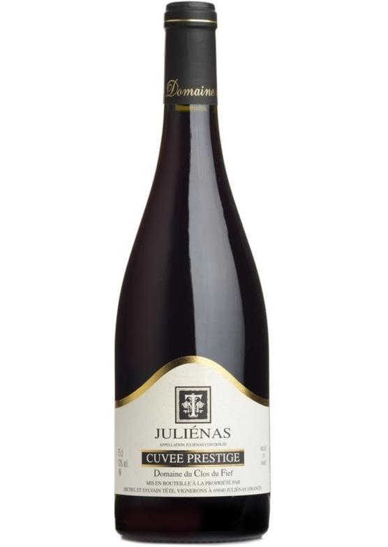 2016 Juliénas, 'Cuvée Prestige', Domaine du Clos du Fief, S&M Tête