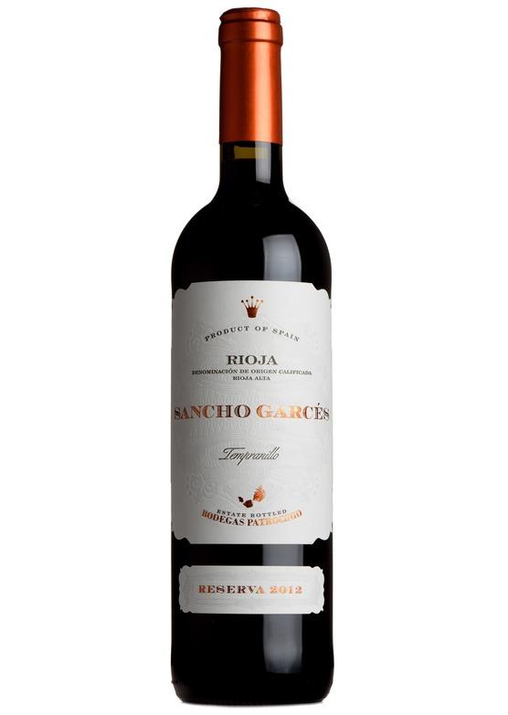 2014 Rioja Reserva, Sancho Garces, Patrocinio
