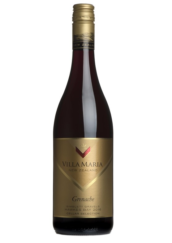 2016 Cellar Selection Grenache, Villa Maria, Gimblett Gravels