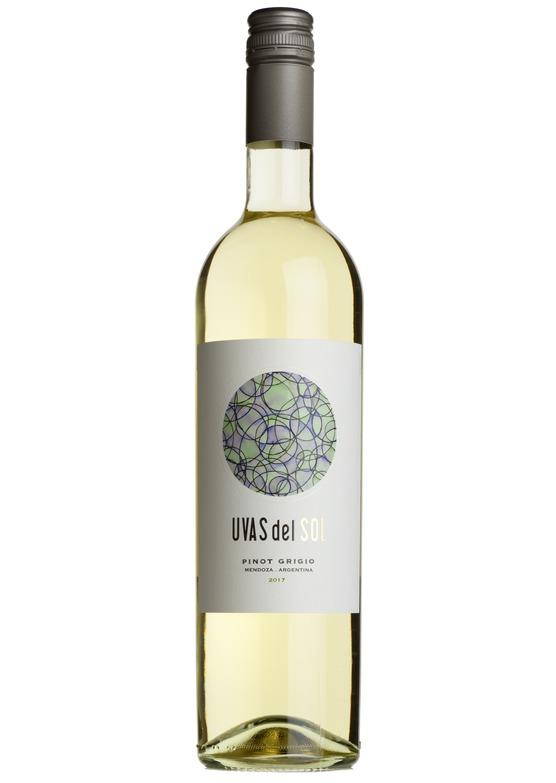 2018 Pinot Grigio, Uvas del Sol, Mendoza