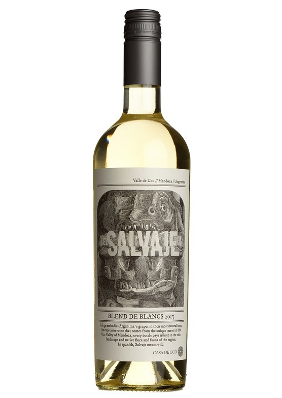 2017 El Salvaje Blend de Blancs, Casa de Uco, Uco Valley