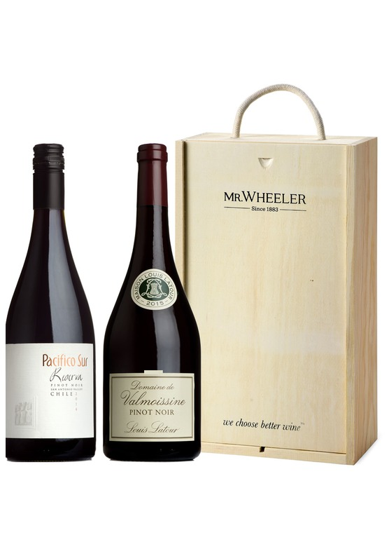 Great Grapes: Pinot Noir Red Wine Duo Gift Box