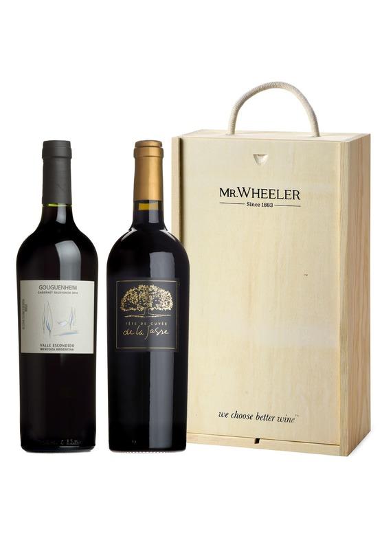 Great Grapes Cabernet Sauvignon Red Wine Duo Gift Box