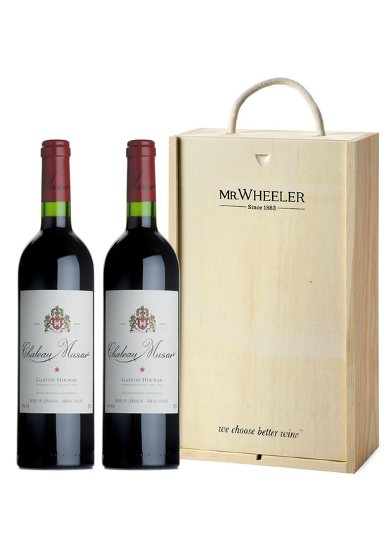 Chateau Musar Duo Wine Gift Box Mr Wheeler Wine