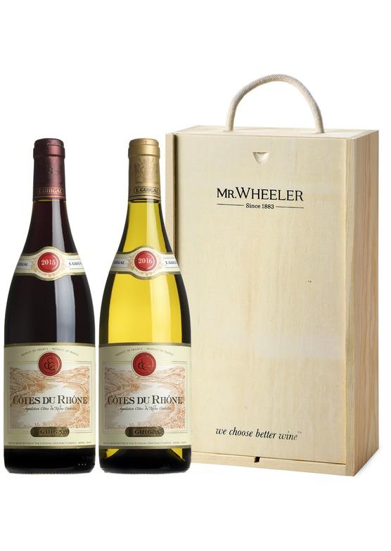 Guigal Côtes du Rhône Wine Gift Box