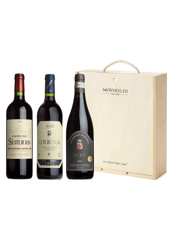 Fine European Reds Wine Gift Box