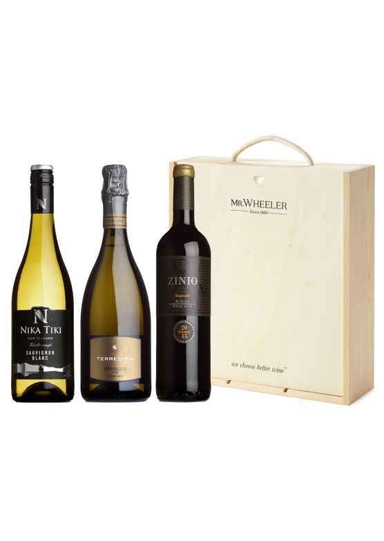 Favourites Trio Wine Gift Box