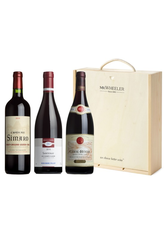 Fine French Reds Wine Gift Box