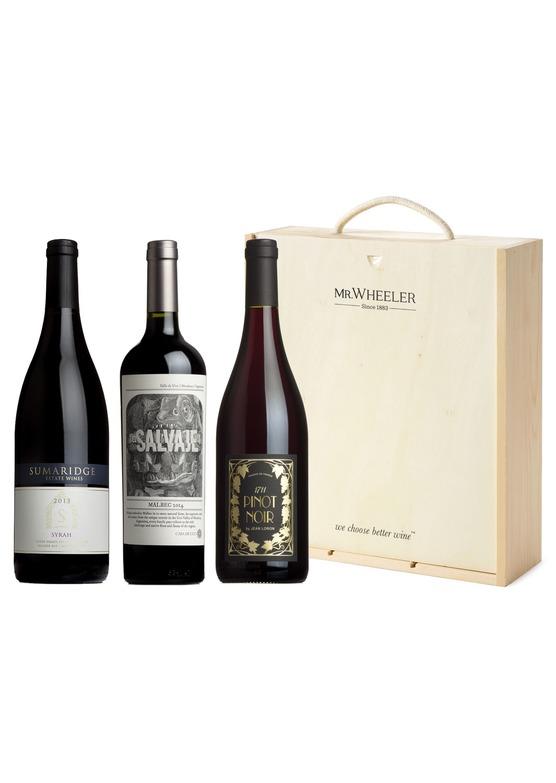 Great Red Grapes Trio Wine Gift Pack