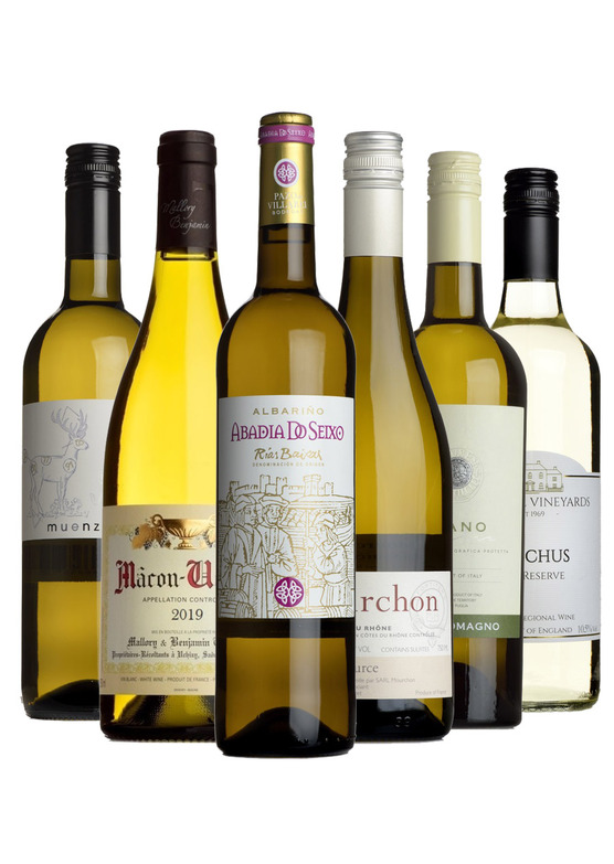 Best-Selling Whites Mixed Case