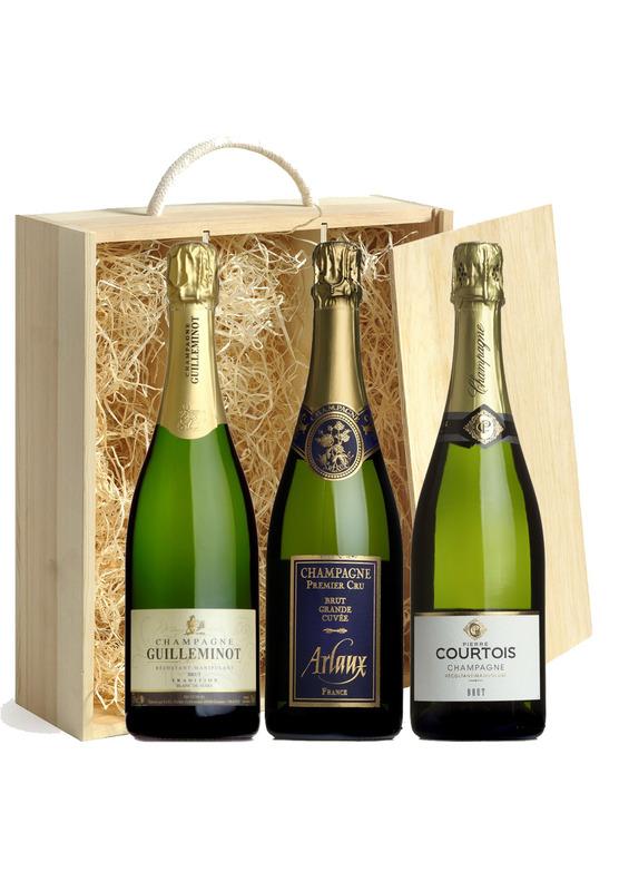 Champagne Gift Trio
