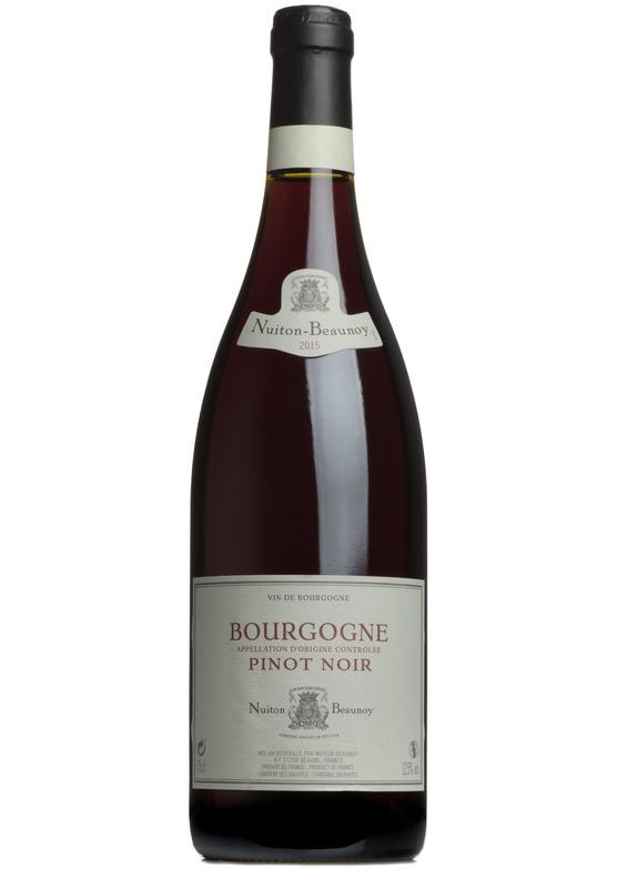 2015 Bourgogne Pinot Noir Nuiton-Beaunoy