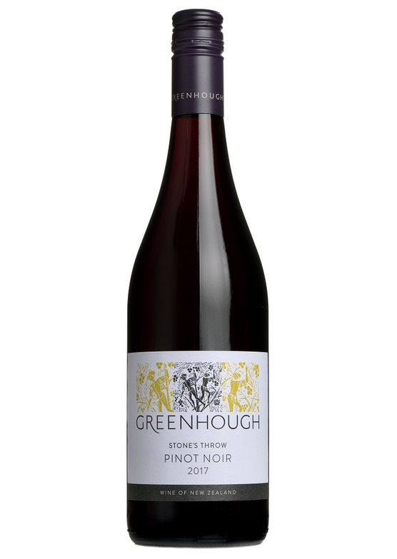 2017 Stone's Throw Pinot Noir, Greenhough, Nelson