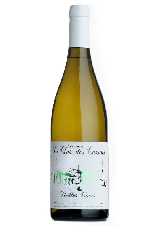 2016 Vacqueyras Blanc, Vieilles Vignes, Domaine Le Clos des Cazaux