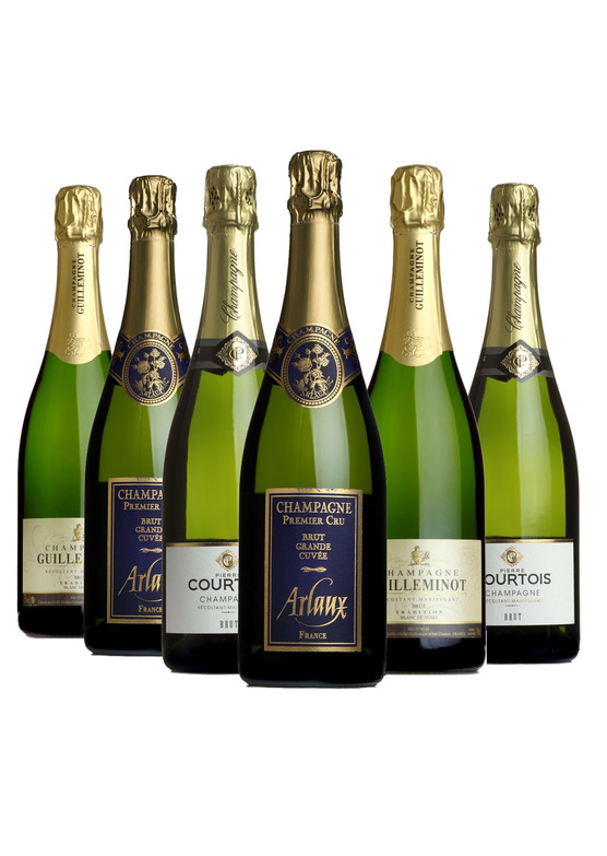 Champagne Mixed Case
