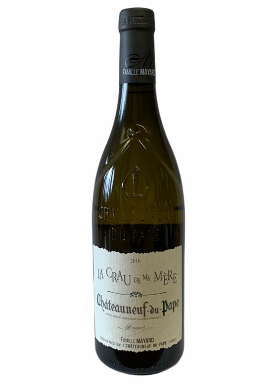 Châteauneuf-du-Pape Blanc, La Crau de Ma Mere, Famille Mayard 2016