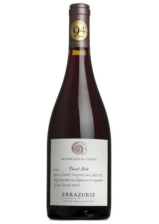 2019 Aconcagua Costa Pinot Noir, Errazuriz, Aconcagua Valley