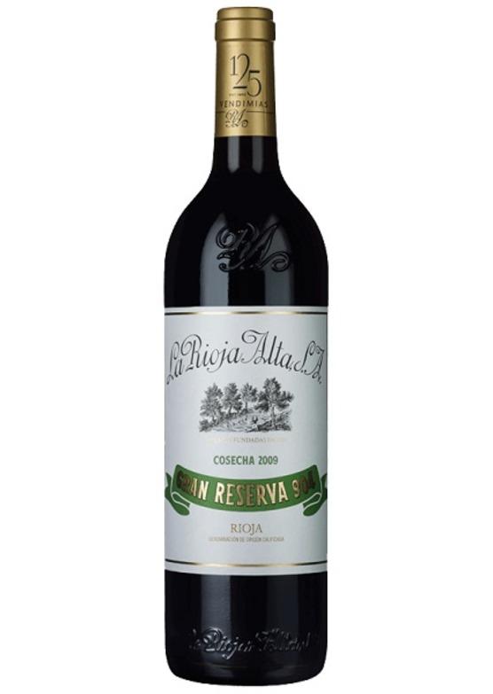 2009 Gran Reserva 904, La Rioja Alta