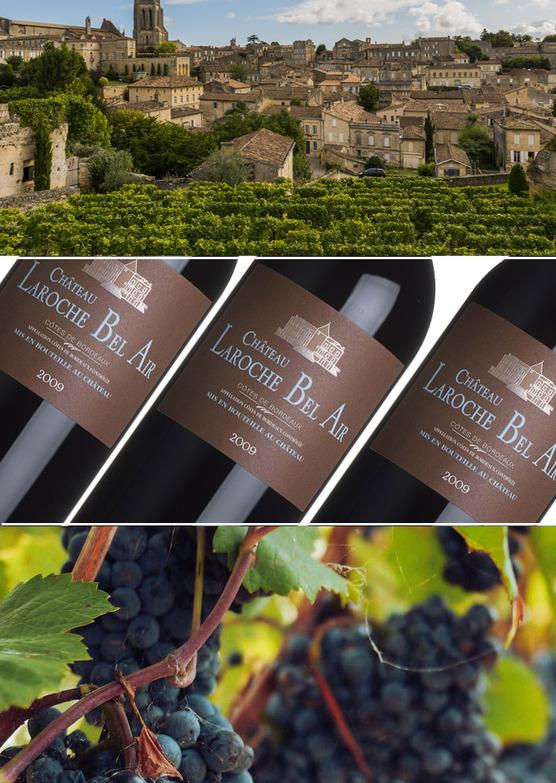Château Laroche Bel Air, Côtes de Bordeaux 2009