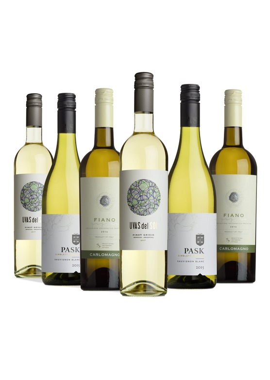 The Crisp whites mixed case
