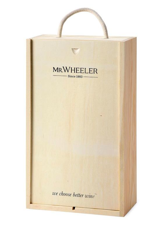 Fine Chablis & Claret Wine Gift Box