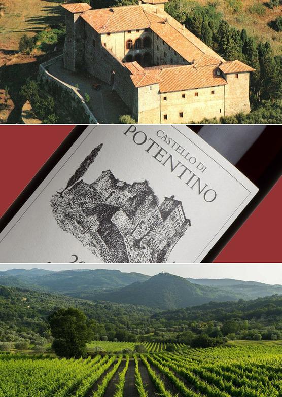 'Sacromonte' Rosso, Castello di Potentino, Tuscany 2013