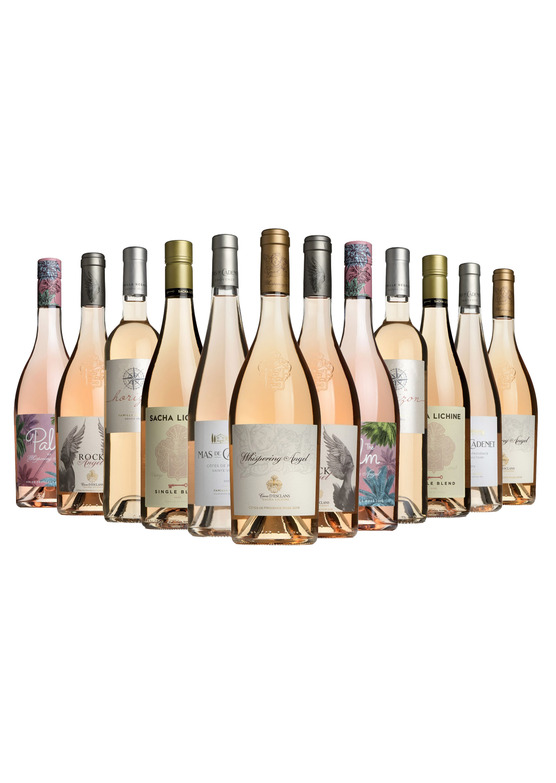 French Summer Rosés Mixed Case