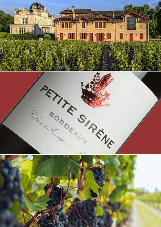 Petite Sirène de Château Giscours Bordeaux 2016