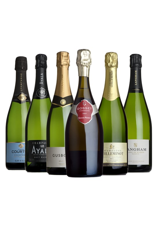 Champagne & Sparkling Wine Mixed Case