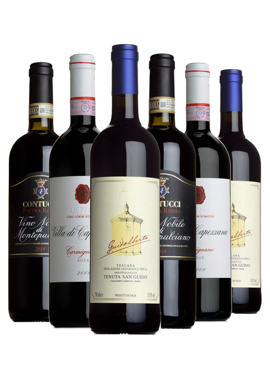 Tuscan Fine Wine Mixed Case